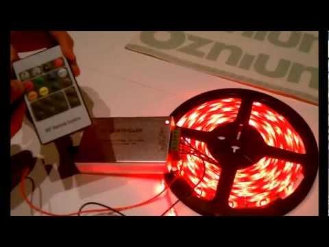 Make LEDs flash to music - Oznium.com LED Sound Controller