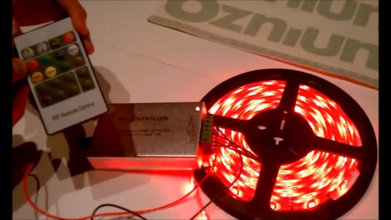Make Leds Flash To Music Ozniumcom Led Sound Controller Youtube Christmas Light Flasher Circuit Is Controlled By Audio