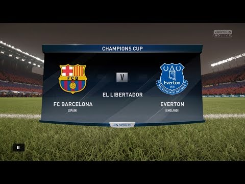 FIFA 18 Career Season 3 UEFA Champions League Group Stage Matchday 3 FC Barcelona vs. Everton FC
