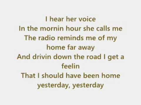 John Denver - Take me home, Country Roads + Text - YouTube