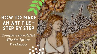 How To Make An Art Tile Step By Step