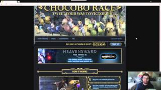 FFXIV ARR: Chocobo Race Twitter Contest....What The Heck?