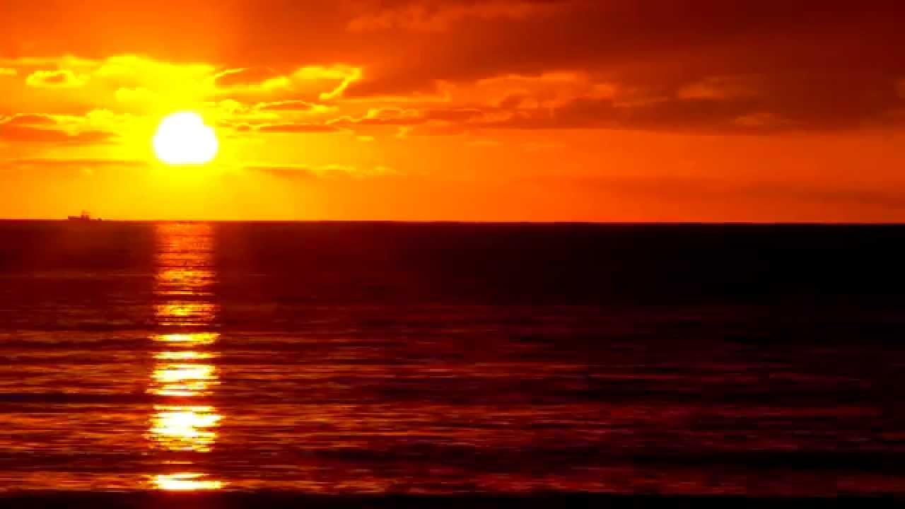Hd Wallpaper Sea Beach Seashore Sunrise Background Video Loop Youtube