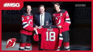 Martin Brodeur Saluted At The Rock for Hall of Fame Induction | New Jersey Devils