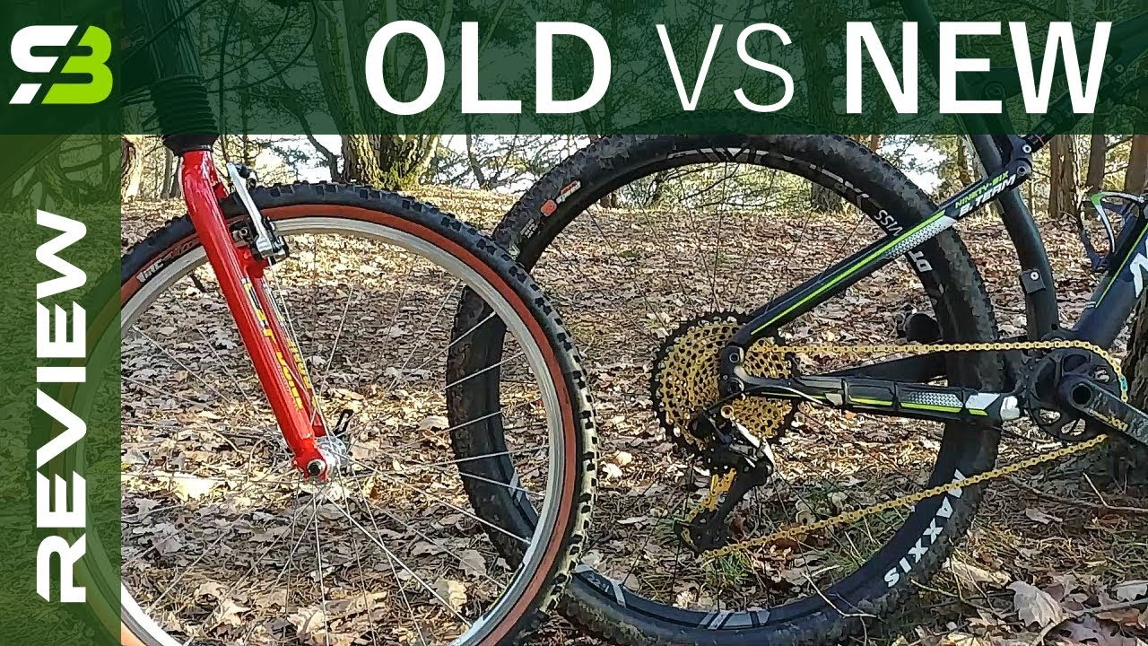 1998 Cannondale Vs 2017 Merida How Full Suspension Bikes Changed