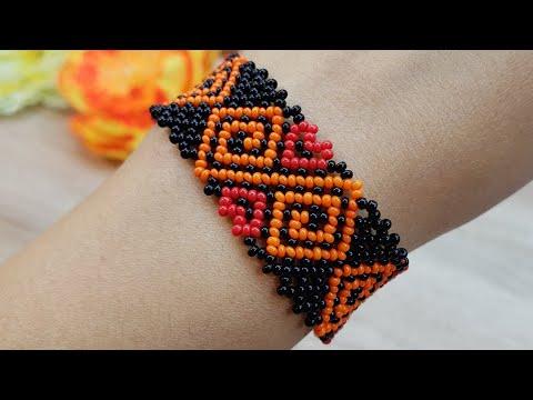 Bracelet/Beaded Bracelet/Diy Bracelet/Браслет/Браслет из бисера/Как сделать браслет/Ажурный браслет