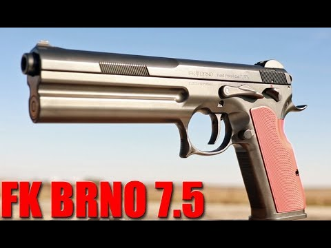 FK BRNO 7.5 Field Pistol Full Review: 2000 FPS From A Handgun!