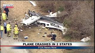 TWO SMALL PLANE CRASHES IN ONE DAY: Latest from FOX News Now