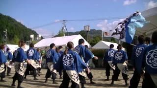 福井大学よっしゃこい2013年度演舞「夢光咲」 むこうへ 越前そばイベン...