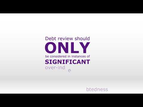 Know the difference between  Debt review and consolidation loans