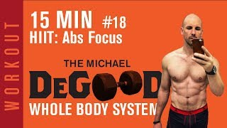 15 minute At Home Dumbbell Workout With Abs Focus