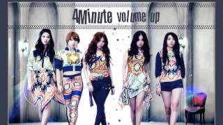 4Minute - Volume Up(Japanese Version)
