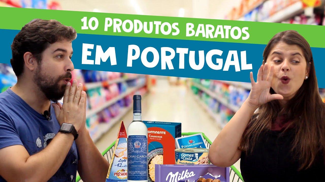 10 produtos de supermercado BARATOS em Portugal