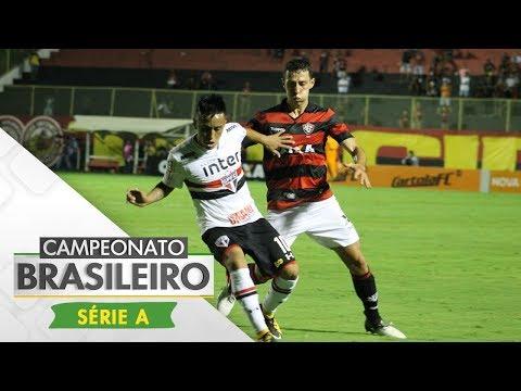 Melhores Momentos - Vitória 1 x 2 São Paulo - Campeonato Brasileiro (17/09/2017)