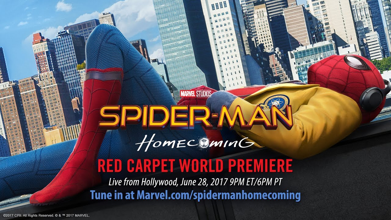 spider-man: homecoming red carpet premiere - part 2 - youtube