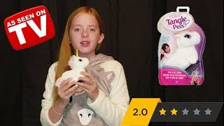 Tangle Pets Review: As Seen on TV ʘ‿ʘ