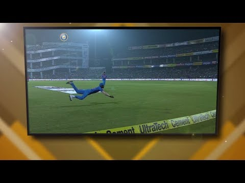 #CricketCountdown: Hardik Pandya catches a blinder!