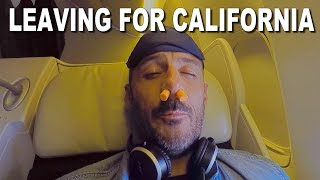 Leaving for California - Santa Cruz Bicycles 2016 Christmas Party - CG VLOG #31