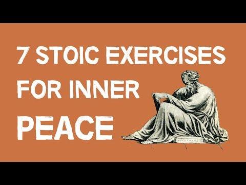 7 Stoic Exercises For Inner Peace