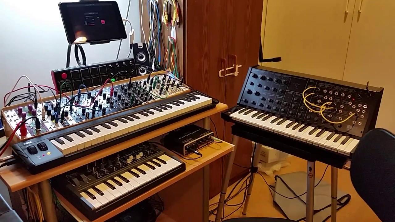 ipad mini 4 modular synth jam with youtube. Black Bedroom Furniture Sets. Home Design Ideas