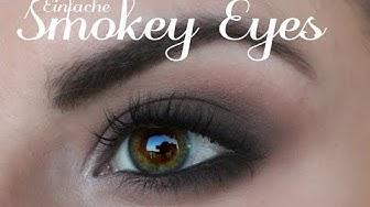 EINFACHE SMOKEY EYES SCHMINKEN - auch für Schlupflieder/kleine Augen ¦ LindasBeautyWorld