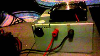computer power supply on stereo in house pt 2