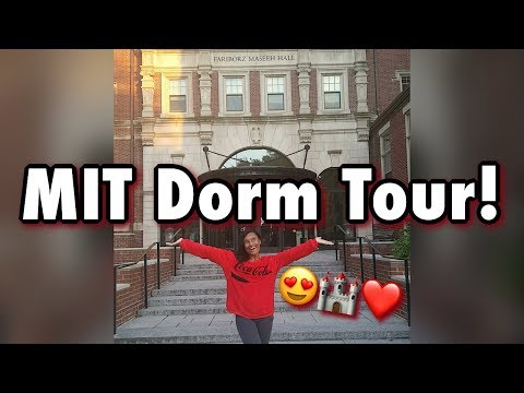 FULL DORM TOUR | Massachusetts Institute of Technology (MIT) | Maseeh Hall