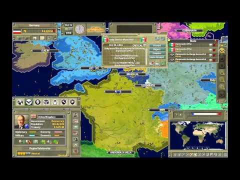 Supreme Ruler 1936 - Germany - Rise of the Reich - Part 1