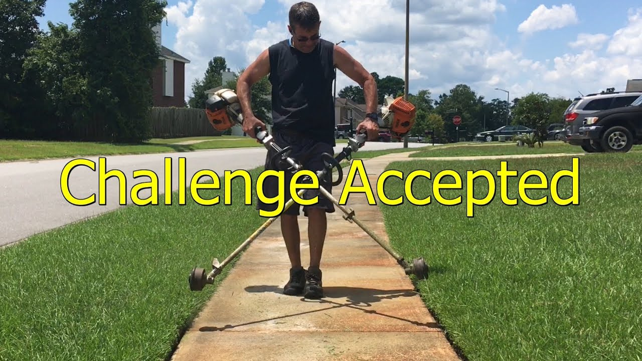 Blades of Grass String trimmer/ edging challenge Submission