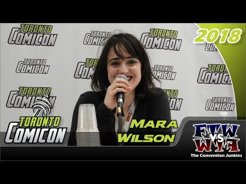 Mara Wilson Matilda Toronto ComiCon 2018 Full Panel