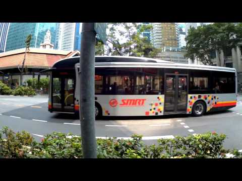 Singapore, walking from Raffles Place MRT to Maxwell Rd/AXA Tower