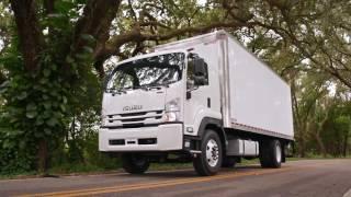 Isuzu FTR Van Body Truck