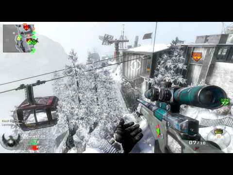 Call Of Duty Black Ops - Slow Motion No Scope - Theatre Mode #12 (PC)