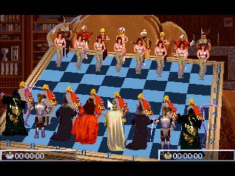 DOS Game: National Lampoon's Chess Maniac 5 Billion and 1