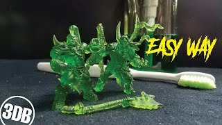 HOW TO CLEAN RESIN PRINTS