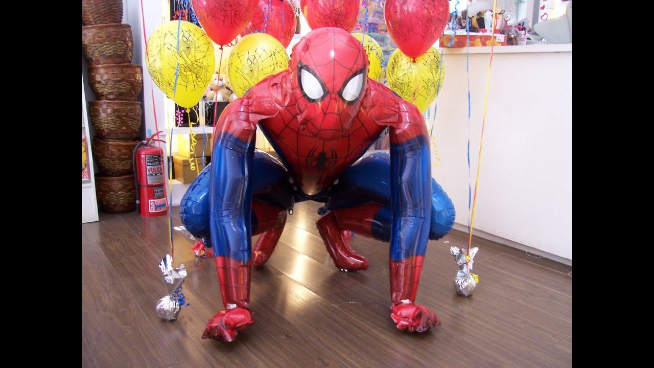 Curso de decoraci n con globos armando un bouquet de - Curso decoracion con globos ...