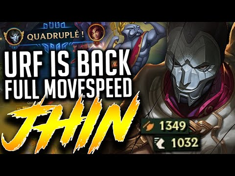 URF IS BACK 2021 | +1300 AD / +1000 MS Jhin