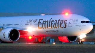 BREATHTAKING Emirates B777 Take off | B777 | Melbourne Airport Plane Spotting