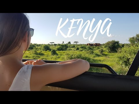 Kenya - Diani Beach & Tsavo East Safari │ GoPro HERO 5 │ Travel