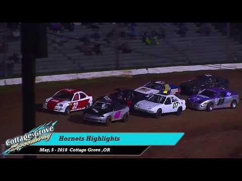5 5 18 Cottage Grove Speedway Hornets Highlights