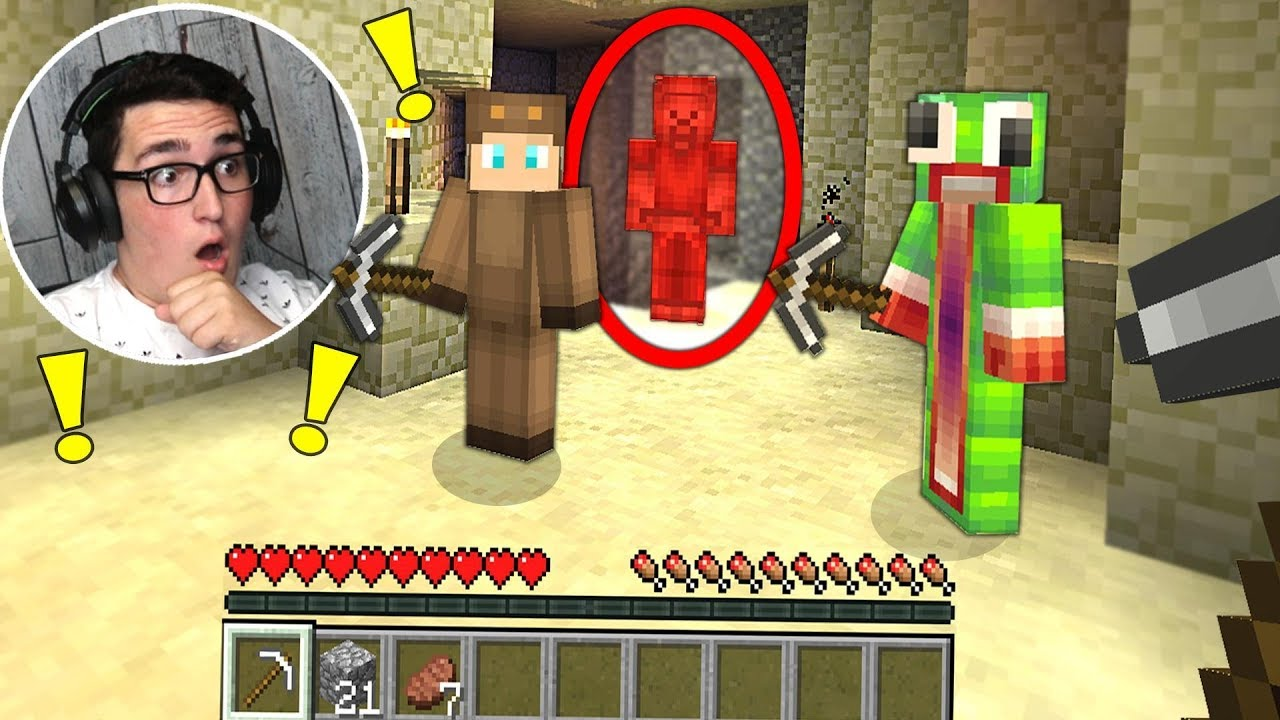RED STEVE FOUND IN MINECRAFT! (SCARY MINECRAFT VIDEO)