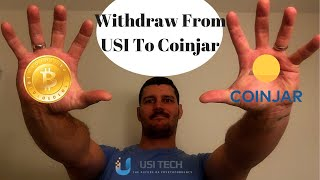 How To Make Withdrawal From Your USI Tech Dashboard To Your Wallet - Coinjar