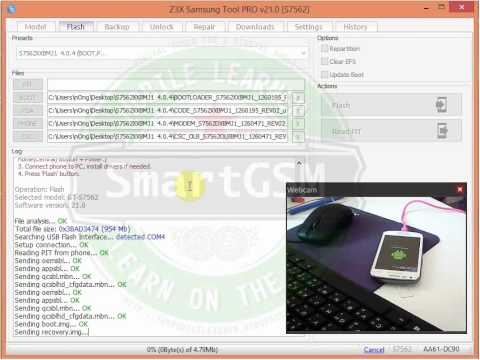 S7562 flash By Samsung Tool PRO