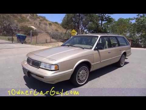 Oldsmobile Cutlass Ciera Cruiser Olds Station Wagon 1994 16k Orig Miles Estate Break Video Review