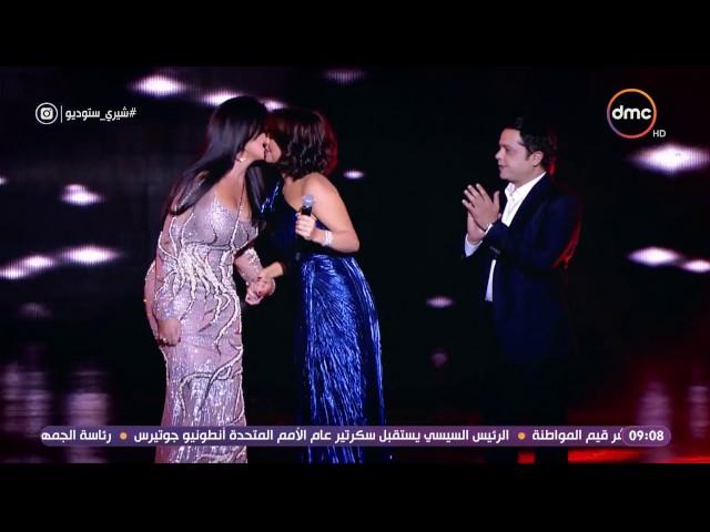 """شيري ستوديو - النجمة / رانيا يوسف .. تتعرض لموقف محرج على المسرح """" يا عم تعالى امسك ايدي """""""