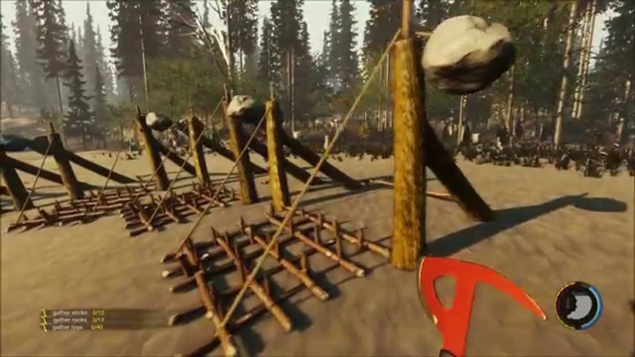 The forest 0 05 2 my worst idea ever wall of traps youtube