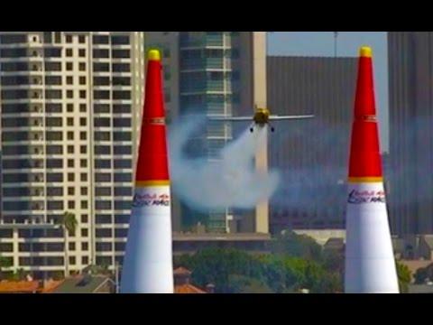 Red Bull Air Race San Diego Bay Coronado View - Plane Clips Fabric Pylon Day One