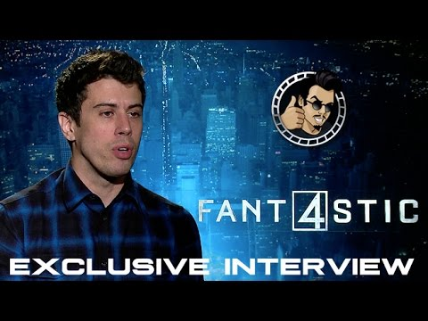 Toby Kebbell Interview - Fantastic Four (HD) 2015