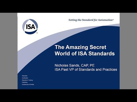 Amazing ISA Standards - ISA Mentor Program
