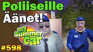 My Summer Car 598  Poliiseille Äänet  Uusi Päivitys